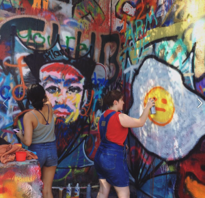 Photo of Artists in Action Graffiti Park