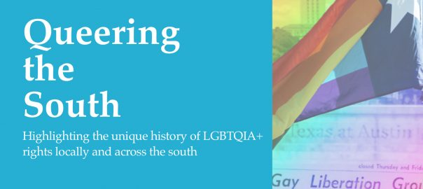 Image of Queering the South promotional material