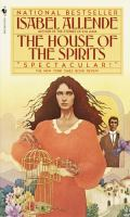 Book cover for Isabel Allende's The House of the Spirits