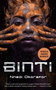 Image of book cover: Binti by Nnedi Okorafor